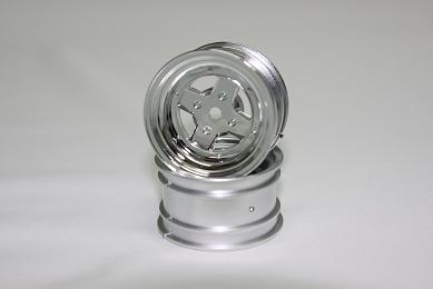 Surging 4-Spoke Type II Rims 1:10MINI chrome