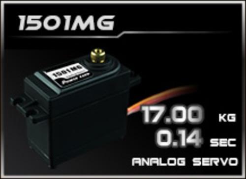 Power-HD Analog Servo 1501MG
