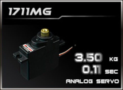 Power-HD Analog Servo 1711MG