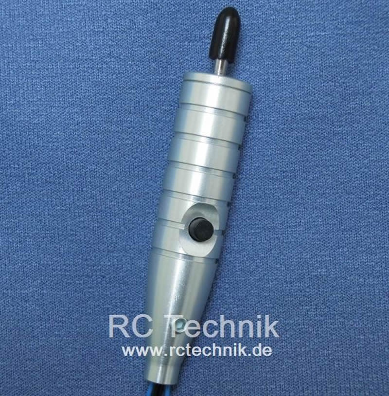 Stick switch with 2-pos. switch and push button