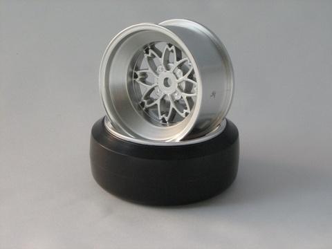 TEAM Yayoi Felgen 1:10 Offset 9mm silber