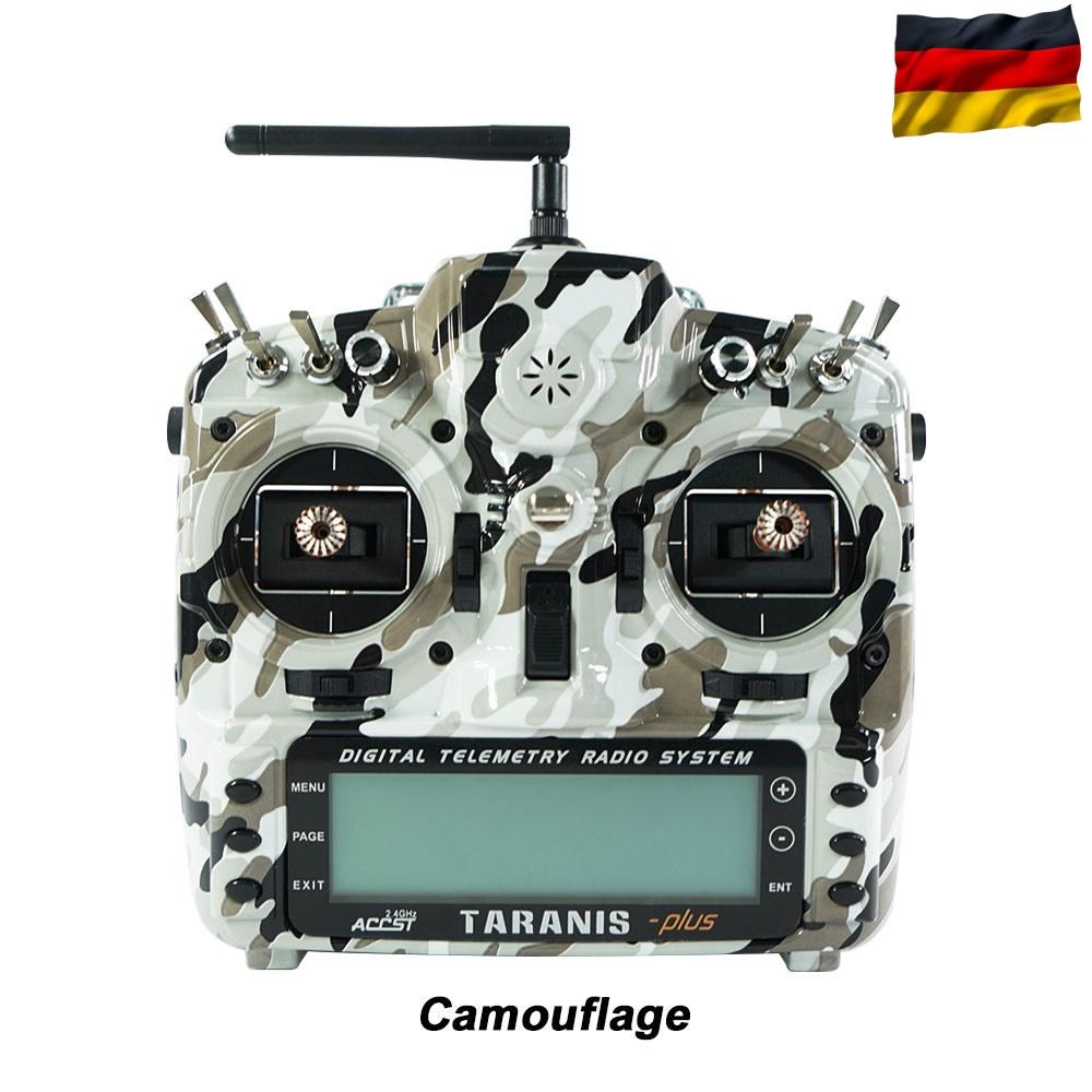 TARANIS X9D-plus EU/LBT FrSky Camouflage SE, dt. Menüführung