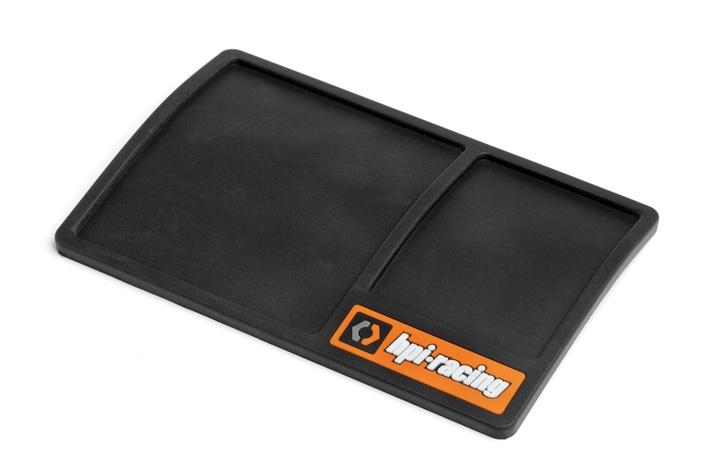 HPI / HB Racing hardware mat 15cm x 10cm, black