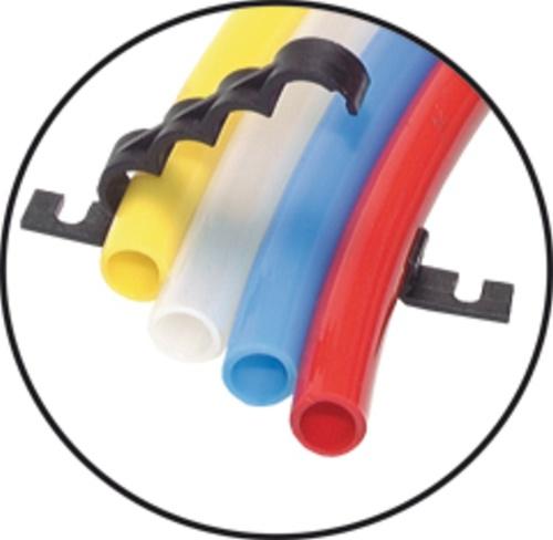 Hose bracket 2-fold for 4mm Tube