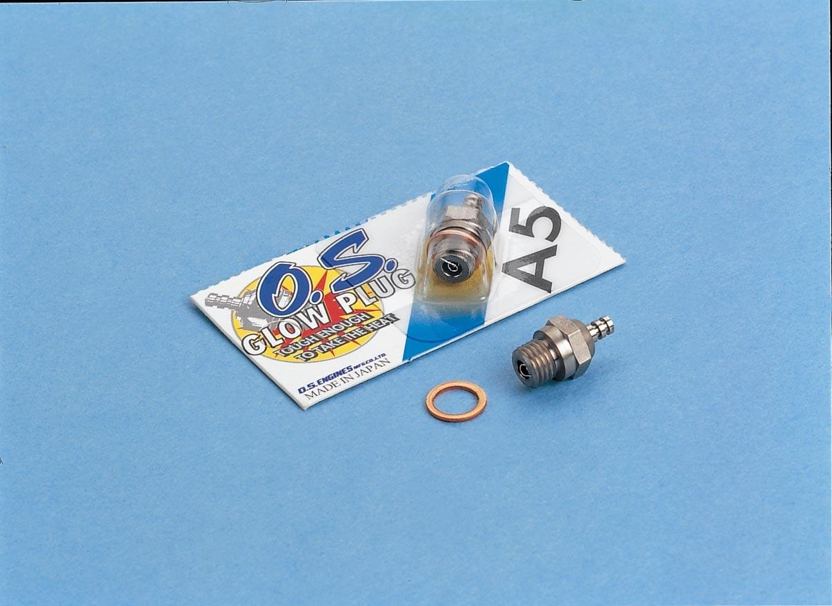 Glow Plug O.S. Typ A5 cold