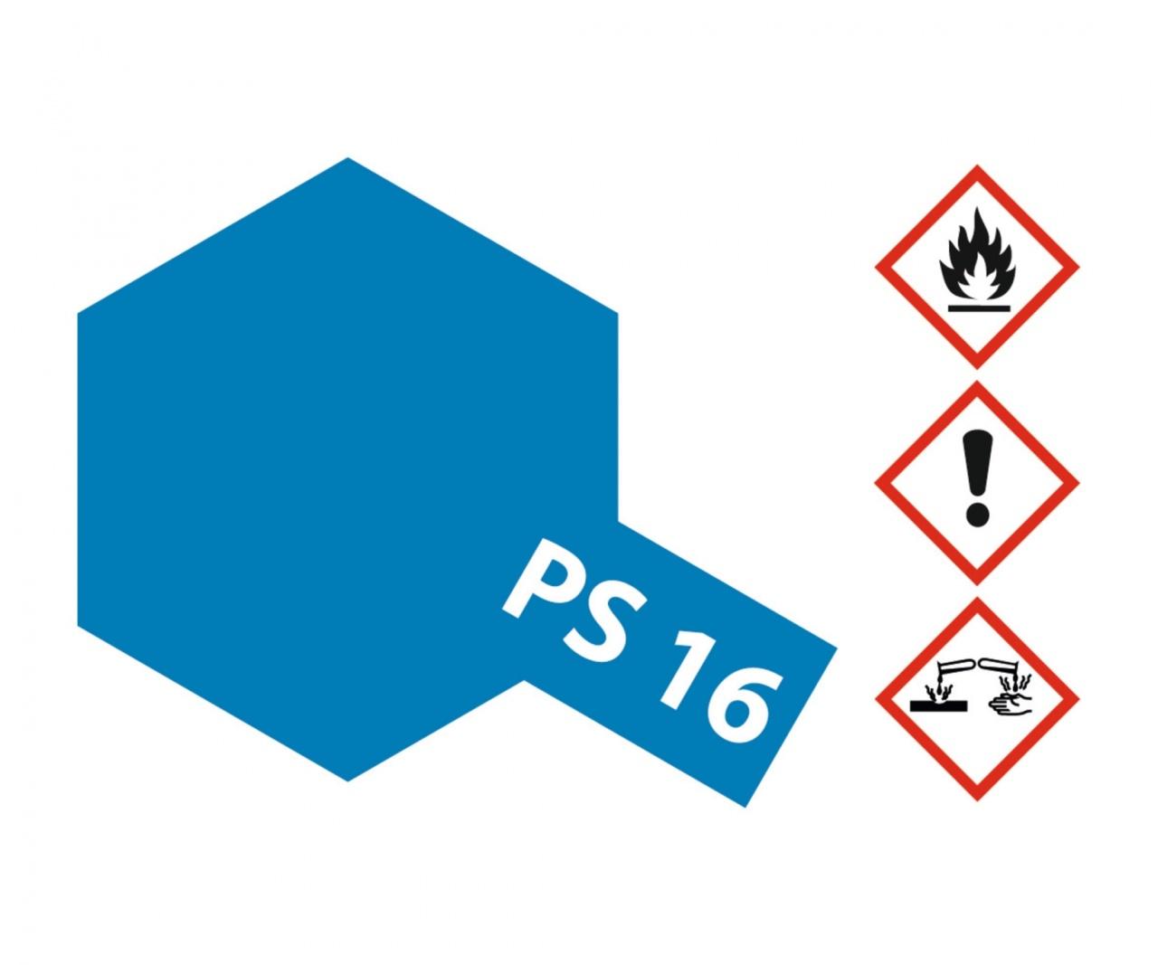 PS 16 Metallic blue