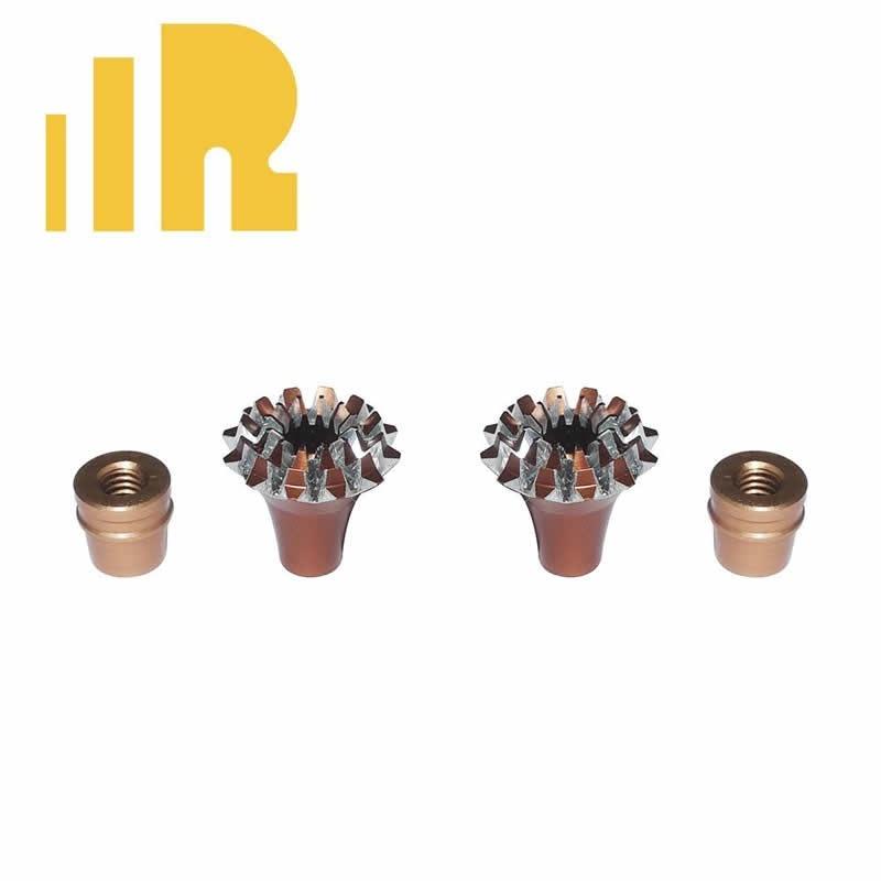 Knüppelgriffe 3D Grande Lotus Style  M3
