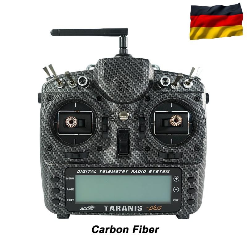 TARANIS X9D-plus EU/LBT FrSky Carbon-Fiber SE, dt. Menüführ.