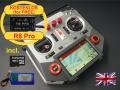 HORUS X10 Express EU/LBT FrSky Senderset Silber 2,4Ghz