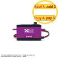 FrSky Xact Low Servo HV 5502 (4 pcs) (4 for 3)