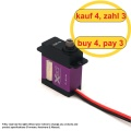 FrSky Xact Micro Servo HV 5203 (4 pcs) (4 for 3)