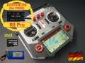 HORUS X10 Express EU/LBT FrSky Sender Silber 2,4Ghz,dt. Menü