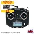Taranis Q X7 ACCESS transmitter with neck-strap, black